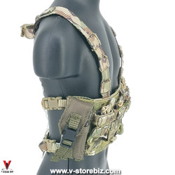 E&S 26042R Tropic Special Forces Sniper Multicam Chest Rig & Pouches