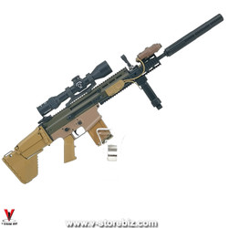 E&S 26042R Tropic Special Forces Sniper Mk.17 SCAR Assault Rifle