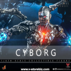Hot Toys TMS057 Zack Snyder's Justice League: Cyborg