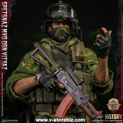 DAMTOYS 78087 Armed Forces of the Russian Federation:  SPETSNAZ MVD VV OSN Vityaz