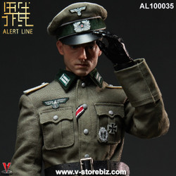 Alert Line AL100035 WWII German Army Officer