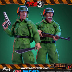 Tunshi Studio 1/12 Metal Slug III - Rebel Soldier (2-Figure Set)