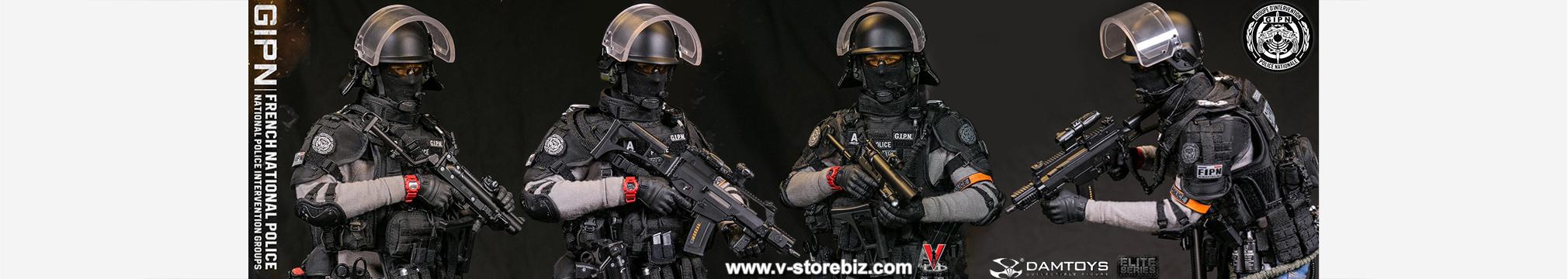 1//6 scale toy Sniper Elite Black Pistol /& Accessory Set Multicam