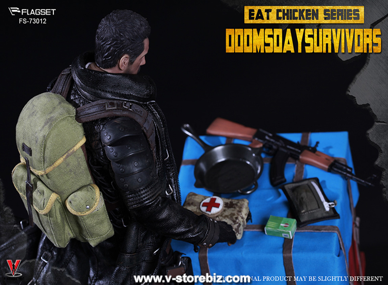 FLAGSET FS-73012 Eat Chicken Series Doomsday Survivors