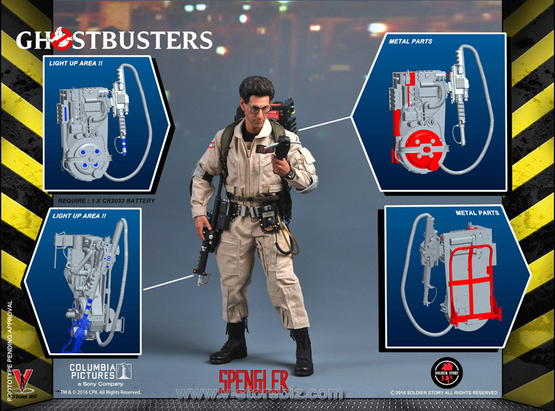 Soldier Story GBI002 Ghostbusters Egon Spengler