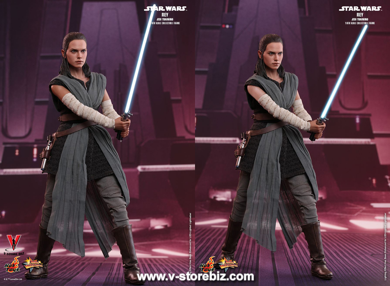 Hot Toys MMS446 Star Wars: The Last Jedi Rey (Jedi Training)