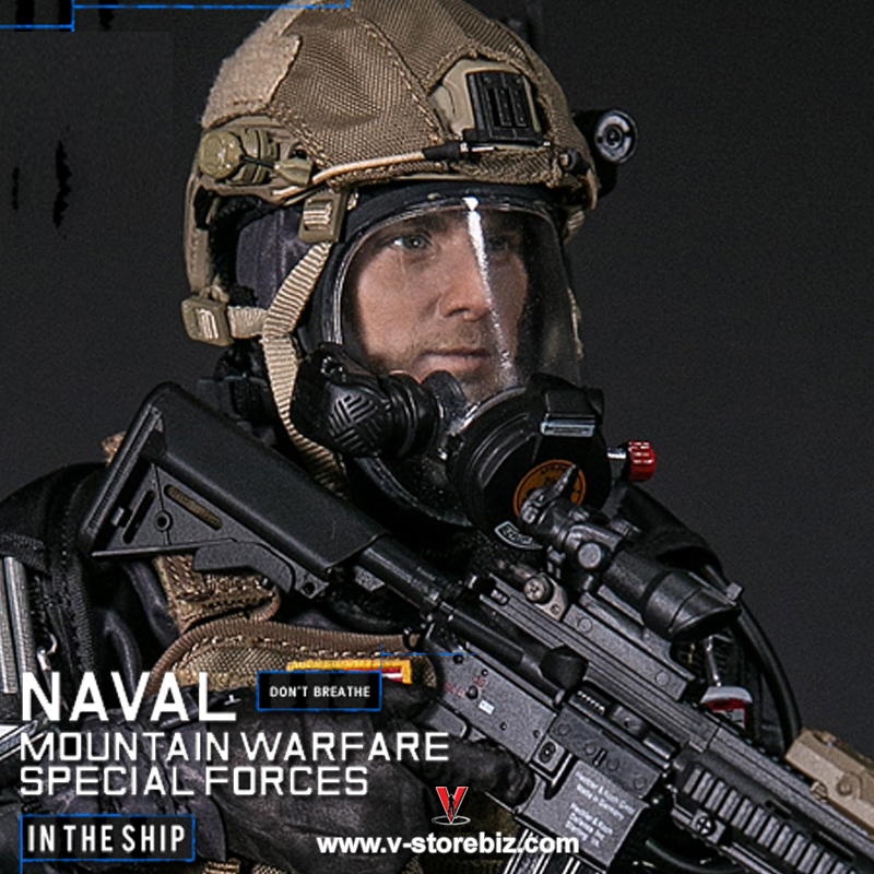 DAM 78051 US Naval Mountain Warfare Special Forces
