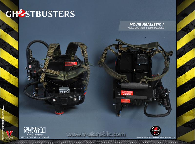 Soldier Story GBI001D Ghostbusters Peter Venkman Deluxe Version