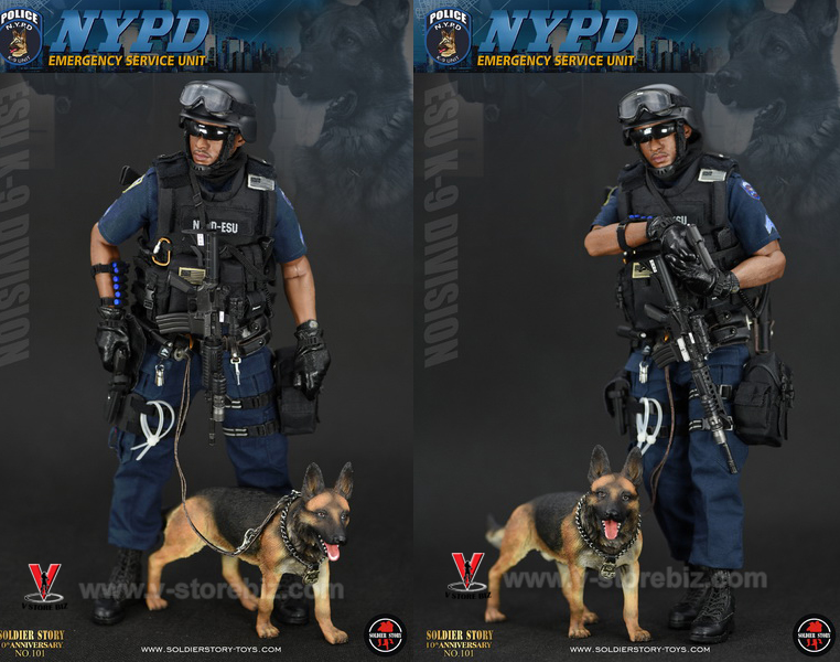 Soldier Story SS101 NYPD ESU K9 Division