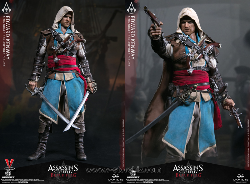 DAMToys DMS003 Assassin's Creed IV : Black Flag Edward Kenway