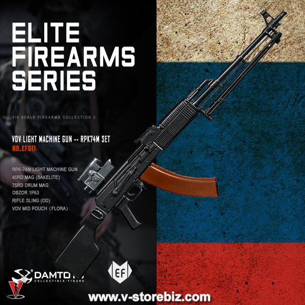 DAM Elite Firearms Series 2 EF011 VDV Light Machine Gun RPK-74M