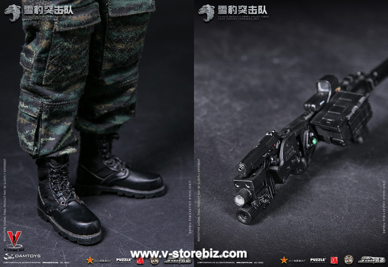 DAM 78052 Chinese People's Armed Police Force Snow Leopard Commando