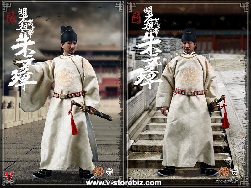 303Toys ES3004 Series Of Emperors Zhu Yuan Zhang (The Emperor Taizu Of Ming)