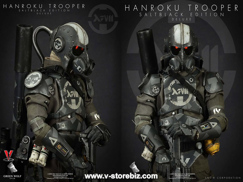 Green Wolf Gear Hanroku Trooper Saltblack Edition (Deluxe Version)
