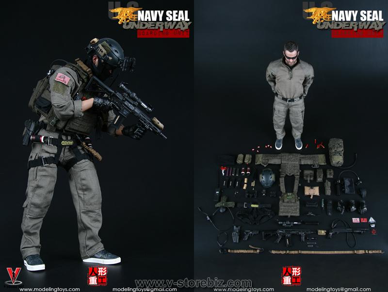 Modeling Toys MMS9003 Navy SEAL Underway Boarding Unit