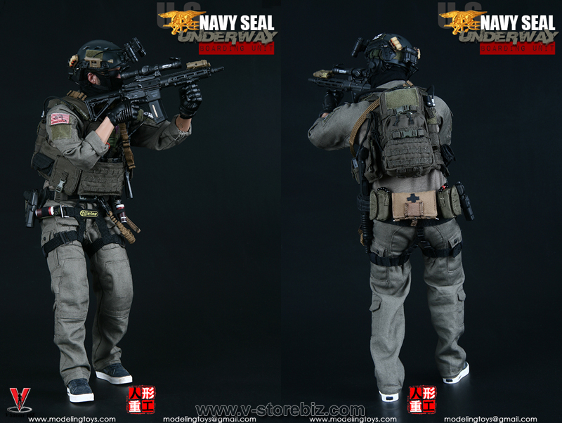Modeling Toys MMS9003 Navy SEAL Underway Boarding Unit