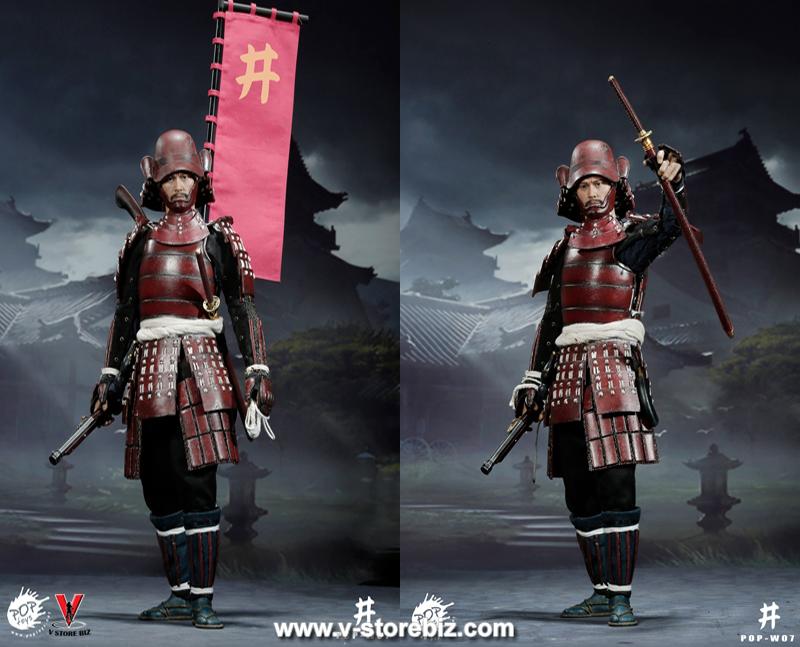 POPToys W07 Samurai Teppo General