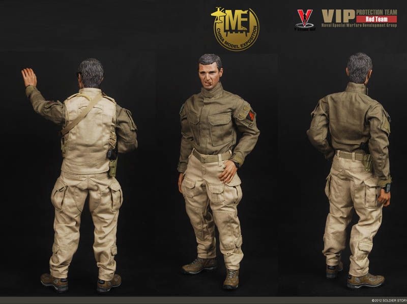 Soldier Story SS061 VIP Protection Red Team (China Hobby Expo Exclusive)