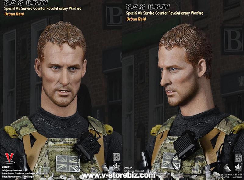 E&S + Green Wolf Gear S.A.S CRW Urban Raid