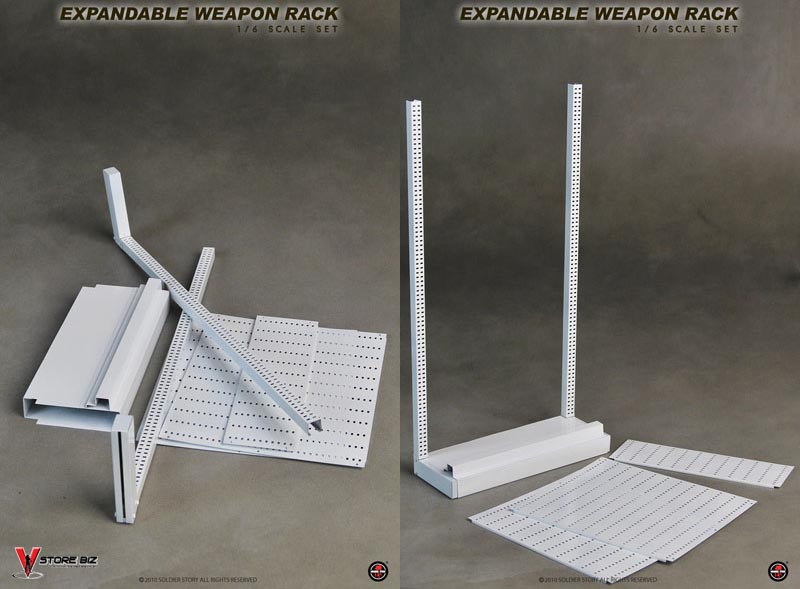 Soldier Story SS047 Expandable Weapon Rack