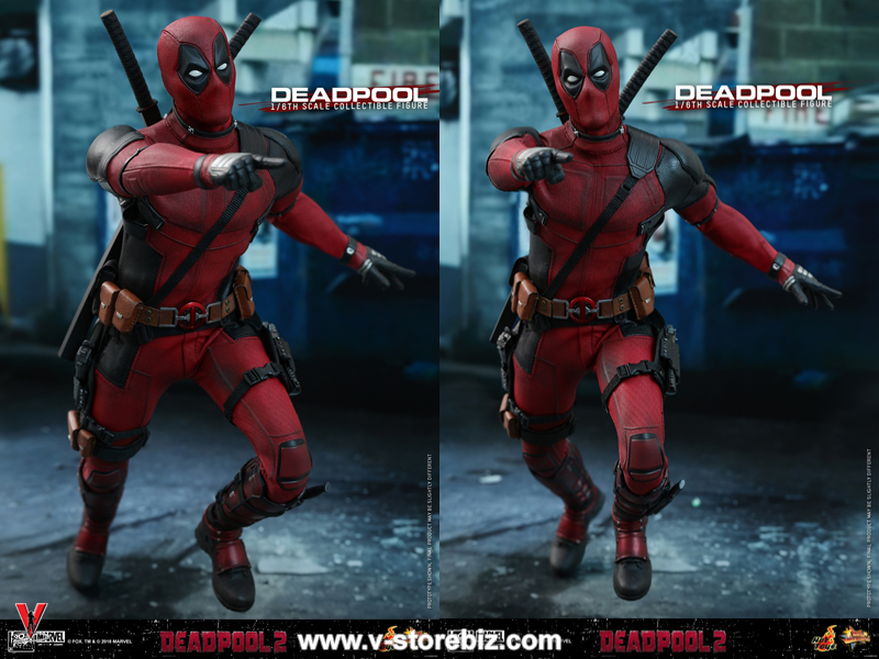 Hot Toys MMS490 Deadpool 2