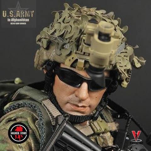 Solder Story SS068  U.S. Army in Afghanistan M249 Gunner