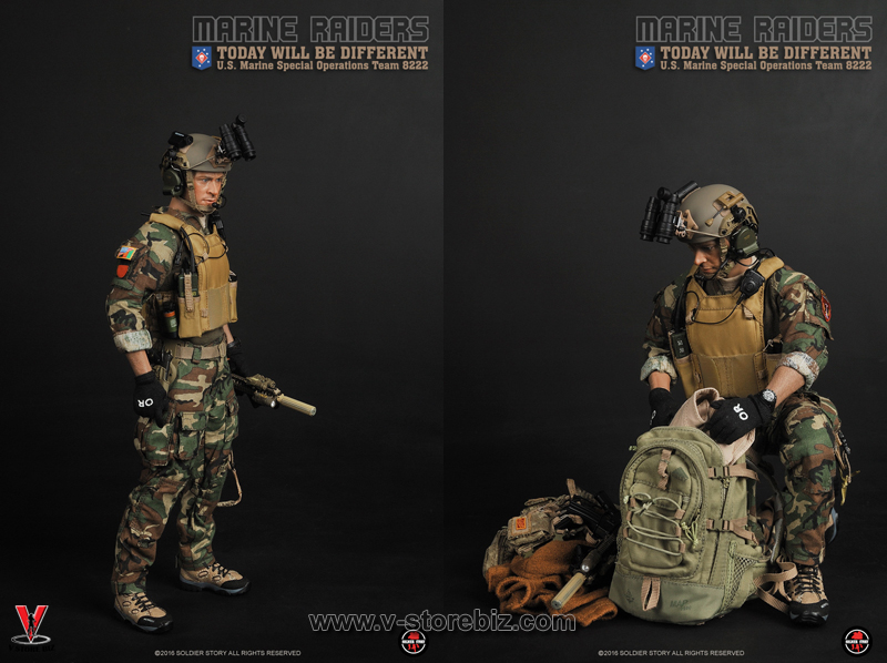 Soldier Story SS094 Marine Raiders MSOT 8222