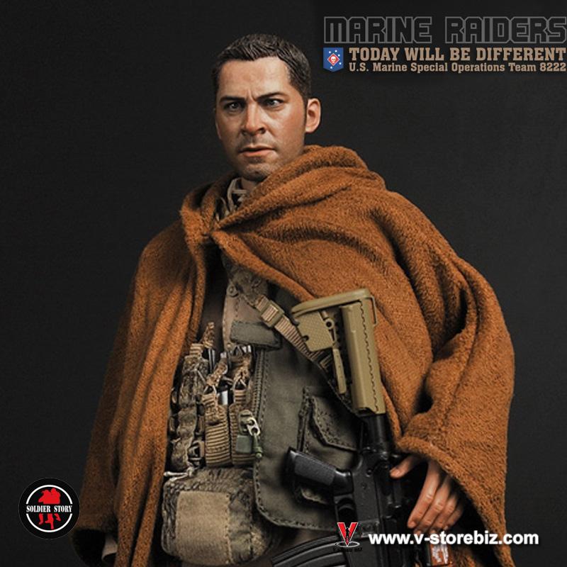 Soldier Story MARINE RAIDERS U.S MSOT 8222 OR Black Gloves loose 1//6th scale
