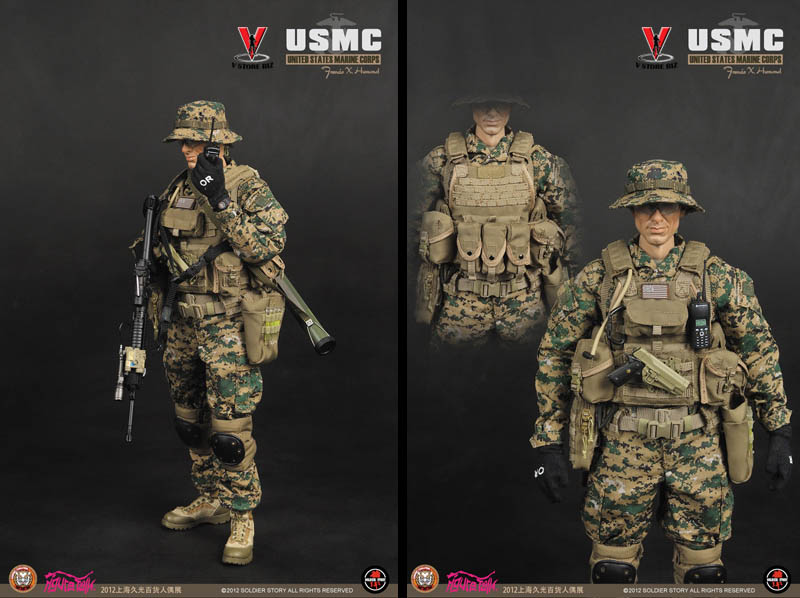 Soldier Story SS063 USMC Francis X.  Hummel (STGCC 2012 Exclusive)