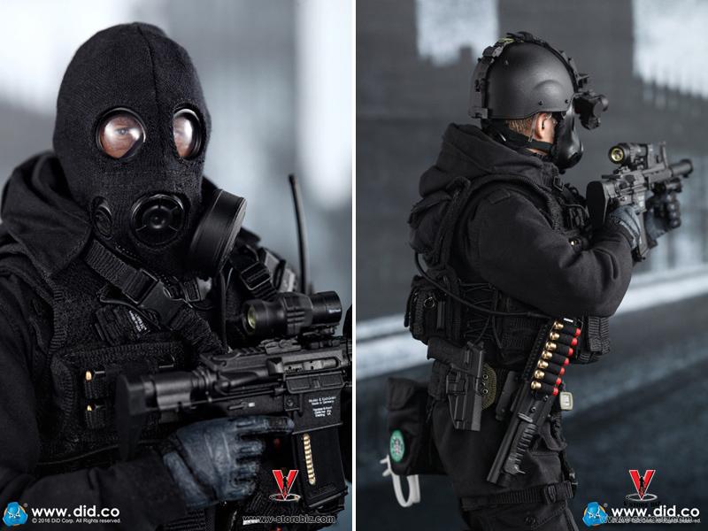 DID MA1005 SAS B Squadron Black Ops Team Sean