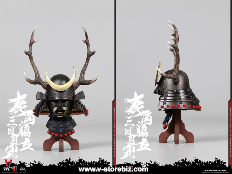 Coomodel SE033 Series Of Empires Black Buckhorn Moon Kabuto (Helmet Edition)