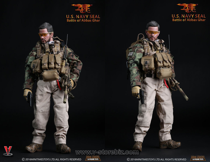Smoke Grenades x2-1//6 Scale Navy SEAL Winter Mini Times Action Figures
