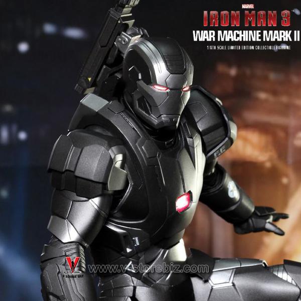 Hot Toys MMS198D03 Iron Man 3  War Machine Mark II (Diecast)