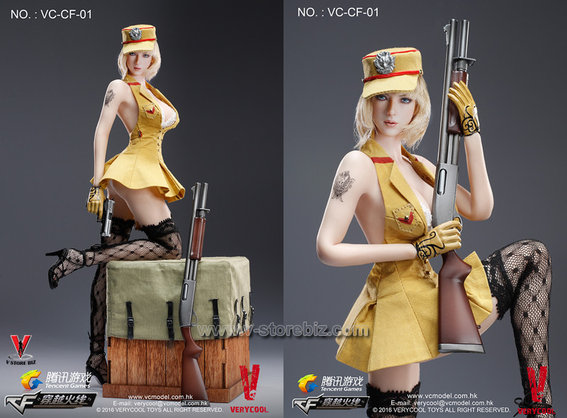 Verycool 1//6 Scale CrossFire Defender of Fox Legend P226 pistol