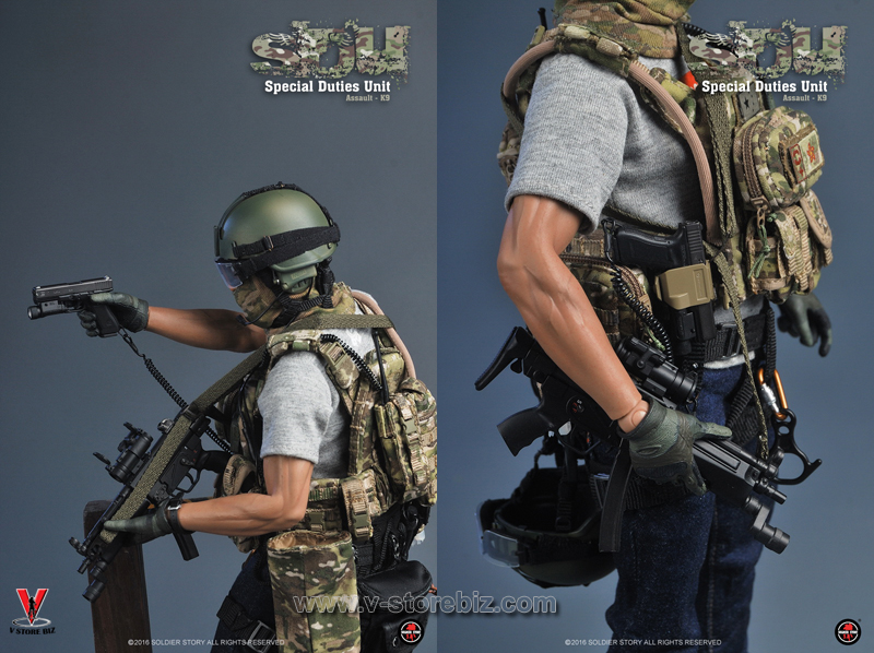Soldier Story SS097 SDU Special Duties Unit Assaulter K9 Unit