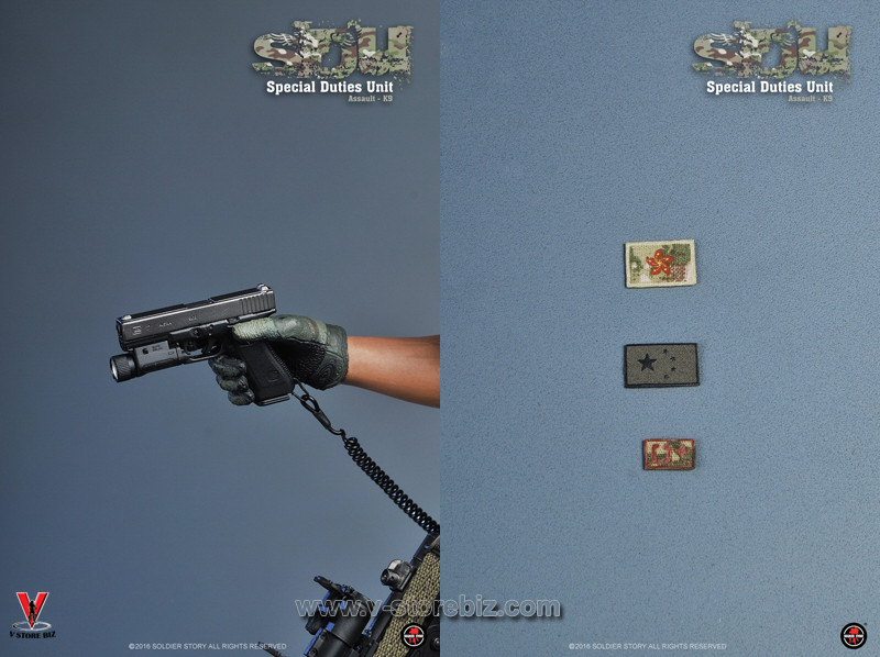 Soldier Story SS097 SDU Special Duties Unit Assaulter K9 Unit