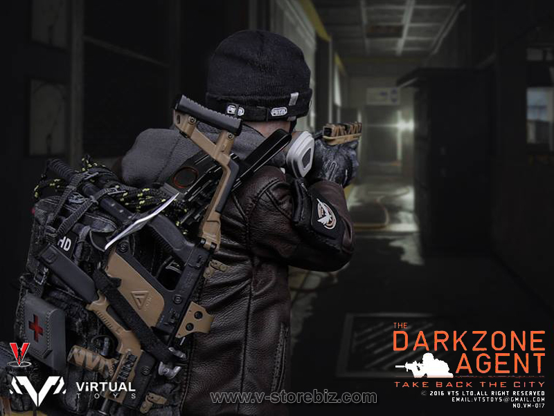 VTS Toys VM017 The Darkzone Agent