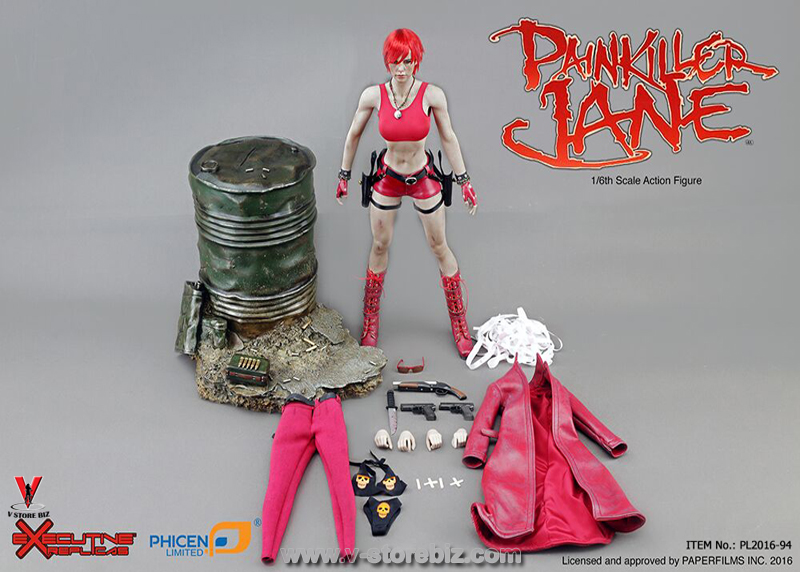 Phicen  PL2016-94 Painkiller  Jane