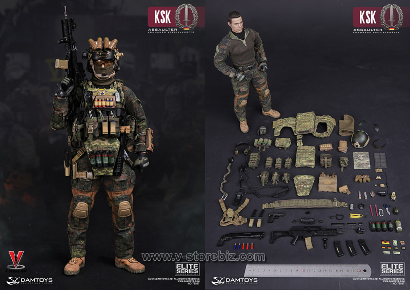 DAMTOYS 78037 KSK KOMMANDO SPEZIALKRÄFTE Assaulter