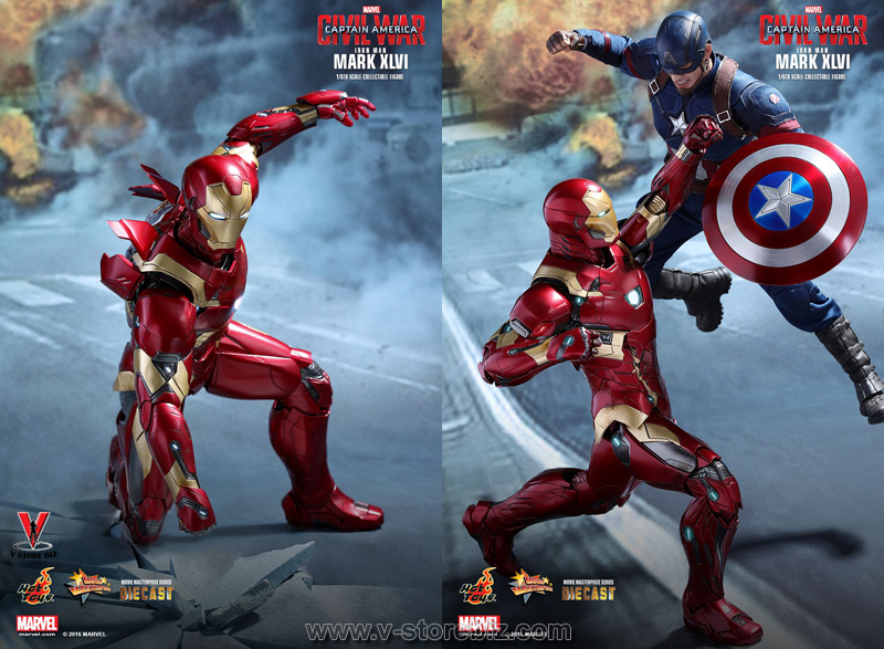 Hot Toys MMS353D16 Captain America: Civil War Iron Man Mk XLvi