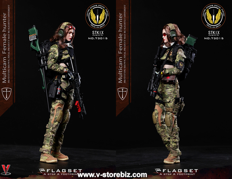 Flagset FS-73015 MC War Angela