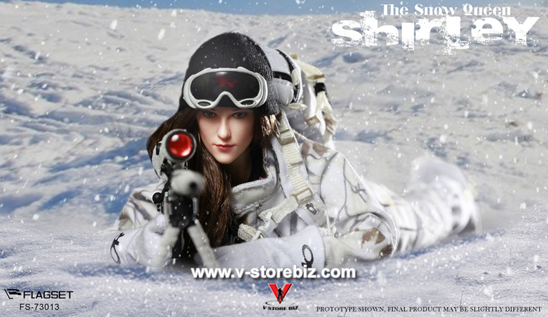 FLAGSET FS-73013 The Snow Queen Shirley