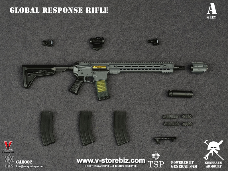 General's Armoury GA0002 Global Response Rifle Set of 2