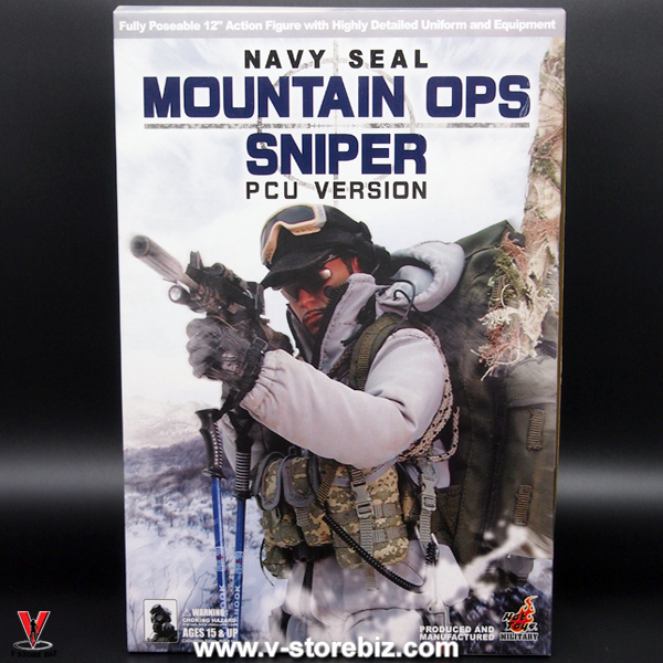 Hot Toys US Navy SEAL Mountain Ops Sniper (PCU Version)