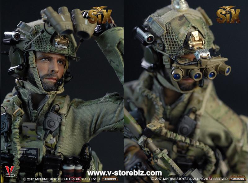 "Mini Times US Navy Seal Team Six M009 12/"" Head Sculpt loose 1//6th scale"