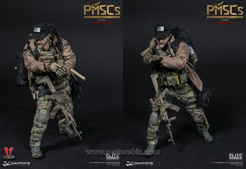 1//6 Scale DAMTOYS 78041 PMSCs CONTRACTOR IN SYRIA TARGETS
