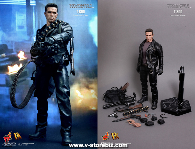 "Versus The Terminator T-800 No Weapon 6/"" Loose Action Figure"