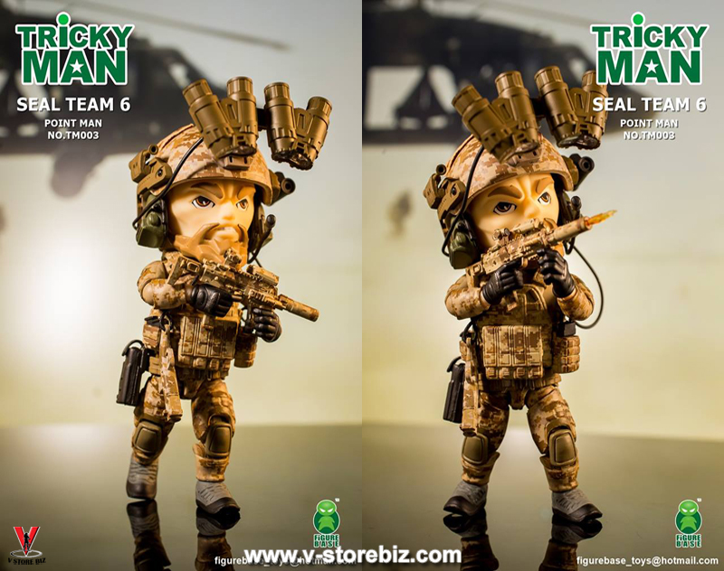 FigureBase Trickyman TM003 SEAL Team 6 Pointman & TM004 160th SOAR Nightstalker