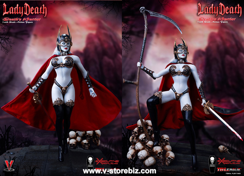 TBLeague PL2017-104B Lady Death Death's Warrior V2 Figure Only