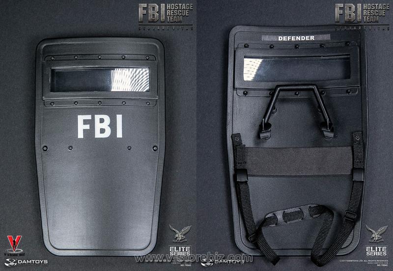 DAMToys 78042 FBI HRT Agent (Hostage Rescue Team)